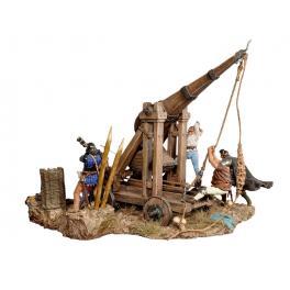 Andrea miniatures,54mm.Trébuchet,1460 figure kits.