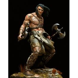 Figurine The Barbarian en 75mm Pegaso Models.