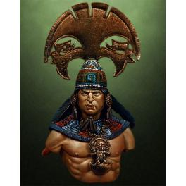 Moche Warrior bust by Pegaso Models.