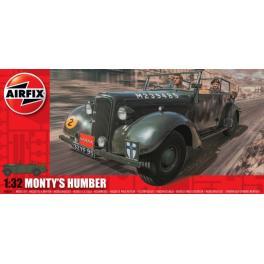 Maquette militaire 1/32e Airfix-Voiture de Montgomery...