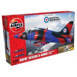 Maquette avion 72e Airfix-Bi place Hawk T1.