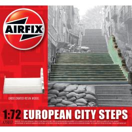 Diorama 72e Airfix-Escaliers.