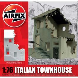 Diorama 76e Airfix-Maison Italienne en ruine.