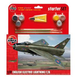 Maquette avion 72e Airfix-English electric Lightning.