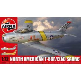 Maquette avion 72e Airfix-Sabre F-86F/E.