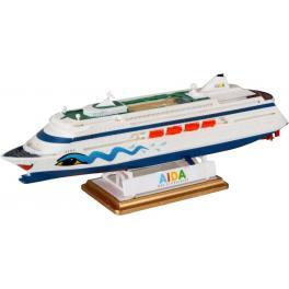 Maquette de Paquebot Revell 1200e-AIDA, avec peintures.