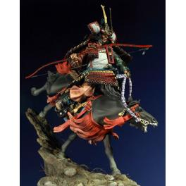 Figurine historique -General Minamoto no Yoshitsune 90mm.