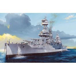 Maquette bateau 350e- Cuirassé USS New-York Trumpeter.