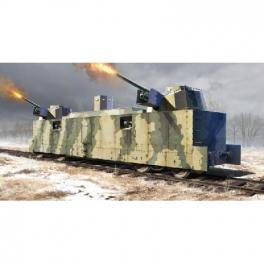 Maquette 35e-Wagon blindé Soviétique, Trumpeter.