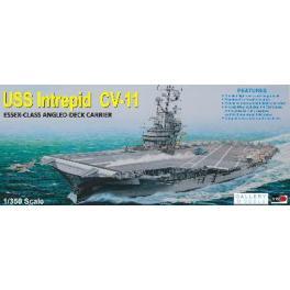 Maquette porte-avions 350e-USS Intrepid, Trumpeter.