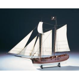ADVENTURE - NAVIRE PIRATE 1760 1/60e Amati.
