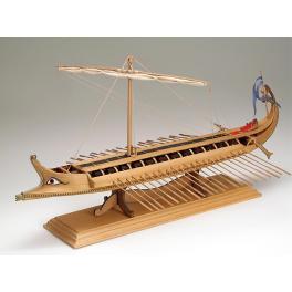BIREME GREQUE amati 1/35e Maquette  bateau en  bois  .