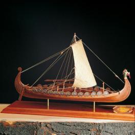 DRAKKAR Amati 1/50e Maquette bois Amati Navire viking