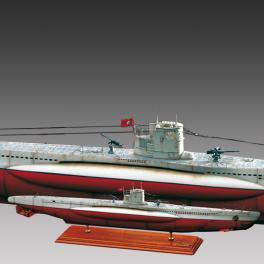 U-BOAT U-47 TYPE VII B 1/72e Amati.