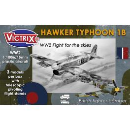 Maquette du Typhoon au 1/100e Victrix.