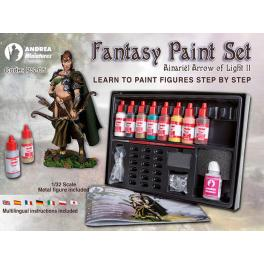 Set de peintures fantaisies Andrea miniatures
