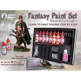 Fantasy paint set Andrea Miniatures.