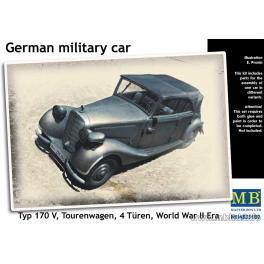 Maquette TOURENWAGEN type 170 V - Véhicule militaire Allemand - 2e GM 1/35e  . Master Box.
