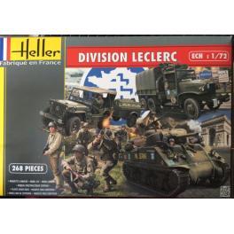 Division Leclerc Heller au 1/72e.