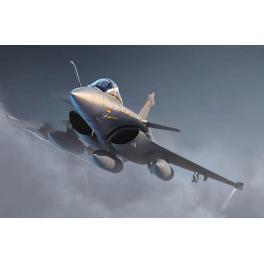 Maquette au 1/144e Dassault Rafale C de Trumpeter.