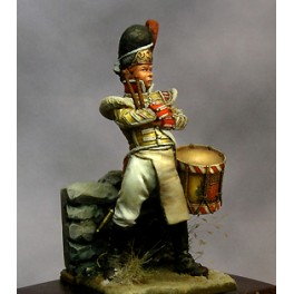 Historic  figure kits.Beneito miniatures,54mm.British boy drummer, Albuhera, 1811.