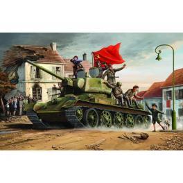 Maquette de char T-34/76, 1943 de Trumpeter 1/16ème