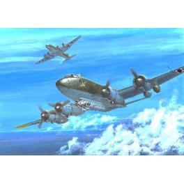 Maquette du Focke Wulf FW200 C-3 au 1/72e Trumpeter