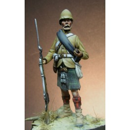 Figurine Beneito miniatures,54mm.92e Highlander,majuba,1881.