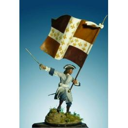 Soldiers 54mm,Infantry Ensign 1704-1712.
