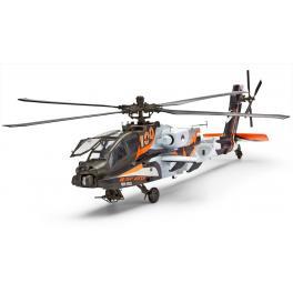 Maquette hélicoptère Apache avec peintures au 1/48ème Revell.