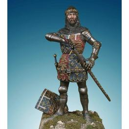 Soldires,90mm.Edouard Plantagenet ,the black prince,1356. Historical military figure kits.