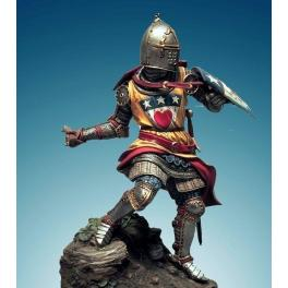 Soldiers.90mm.Archibald douglas ,Scottish knight  ,1333.Historical military miniatures.