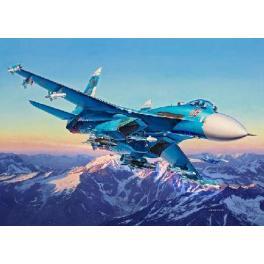 Maquette du Sukhoi Su-27 SM Flanker au 1/72ème Revell.