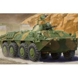 Maquette du BTR-70 APC Soviétique, véhicule militaire au 1/35ème Trumpeter.