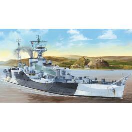 Maquette Cuirassé Britannique HMS Abercombie , bâtiment de guerre au 350ème Trumpeter.