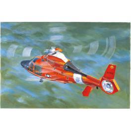 Maquette d'hélicoptère US Coast Guard au 1/35ème Trumpeter.