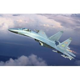 Maquette de chasseur J-11B au 1/144èeme Trumpeter.