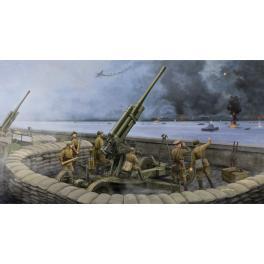 Maquette de canon anti aérien 85mm Soviétique 1/35ème Trumpeter.