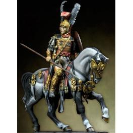 Rome, figurine de cavalier 75mm Pegaso Models.