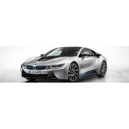 Maquette de la BMW i8 par Revell au 1/24e.