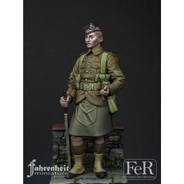 Figurine Argyll et Sutherland Highlanders 1915 en résine 75mm.