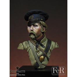 Buste au 1/16ème. th Kentucky infantry, 1862 FeR Miniatures.