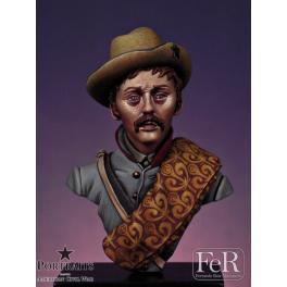 Buste 1/16ème. Rangers du 8ème Texas Cavalry FeR miniatures.
