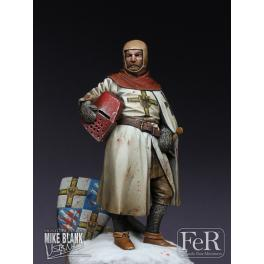 Figure kits  70mm Teutonic Knight, Prussia, 1256 Resin FeR miniatures.
