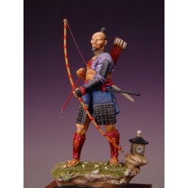 Masterclass,54mm.Samurai figure kits armed fifteenth century