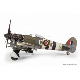 Maquette du Typhoon MK.IB Hawker de 1942 au 1/24ème Airfix.