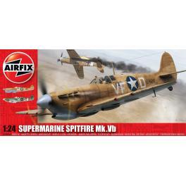 Maquette du Spitfire MK Vb Supermarine au 1/24ème Airfix.