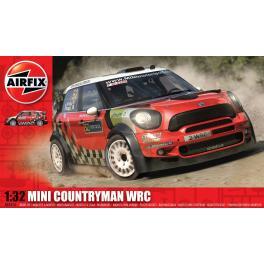 Maquette de Mini Countryman WRC au 1/32ème Airfix.