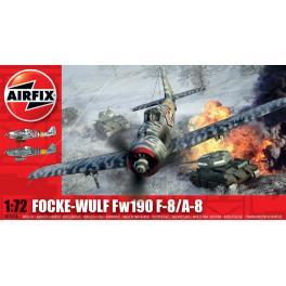 Maquette de Focke Wulf Fw au 1/72ème Airfix.