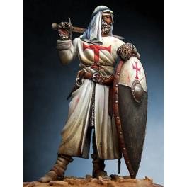 Figurine de Chevalier Croisé du XIIIème siècle 54mm Romeo Models.